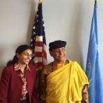 Rencontre avec Nisha Biswal, Secretaire d'Etat adjointe pour les affaires d'Asie du Sud et Centrale du Département d'Etat américain