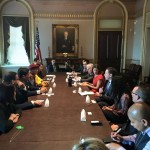 Réunion avec le Council for Global Equality au White House National Security Council